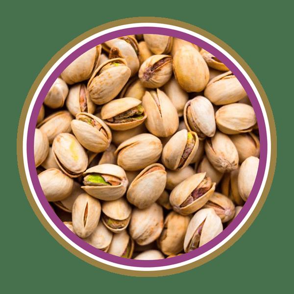 Types of pistachios